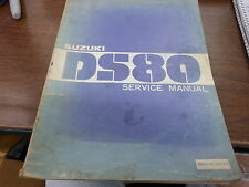 OEM 81 Suzuki DS80 Factory Service Manual 99000-85145-0E3