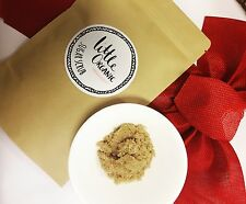 2 x ORGANIC SUGAR SALT COCONUT BODY SCRUB  ACNE CELLULITE REDUCE STRETCHMARK