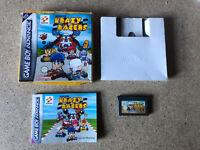 Konami Krazy Racers - Nintendo Gameboy Advance GBA Game RARE BOXED + MANUAL