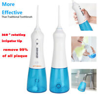 Electric Cordless Water Flosser Portable Water Pick Teeth Dental Oral Irrigator