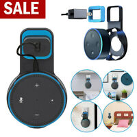 Wall Mount Holder Bracket Cradle Stand Outlet For Amazon Echo Dot 2nd Generation