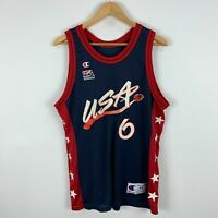 Penny Hardaway Vintage Champion 1996 USA Olympics Authentic Jersey Size 44 Small