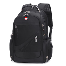 Swiss Gear Para Hombre al aire libre bolsa de viaje mochila escolar bolsa de portátil impermeable