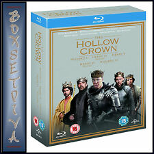 THE HOLLOW CROWN - COMPLETE SERIES 1 & 2 *BRAND NEW BLURAY BOXSET**