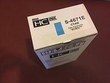 Genuine Riso S-4671E Cyan Ink HC5000 HC5500 ink cartridge Inc. VAT