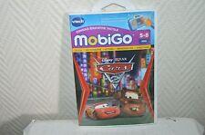 JEU EDUCATIF POUR CONSOLE MOBIGO CARS DISNEY  5-8 ANS BY VTECH CALCUL LETTRE ...