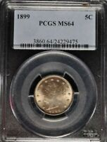 1899 5 Cent Liberty Nickel PCGS MS-64 - 3860