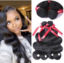 Brazilian Body Wave Hair Weave 100% Human Hair 3 Bundles Remy Hair Extensions