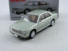 '91 Nissan Cedric Brougham VIP grün,Tomytec Tomica Limited Vintage LV-N181b,1/64
