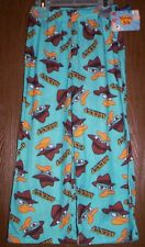 Phineas and Ferb Pajamas Boy's 4/5 NeW Perry Lounge Sleep Pants Pjs Nwt Agent P