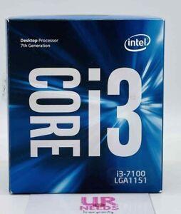 Intel Core i3-7100 Kaby Lake Dual-Core 3.9 GHz LGA 1151 51W Desktop Processor