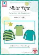 Farbenmix / mialuna Schnittmuster - Shirt / Herrenshirt mit Schulterpasse - PEPE