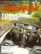 AUTOWEEK - August 7, 2006 - Mercedes CLK DTM Cabrio