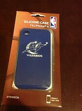 NEW UNOPENED Package NBA DC Washington Wizards Silicone Phone Case Iphone 4