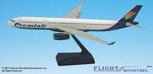 Flight Miniatures Premiair Air Charter Airbus A330 1:200 Scale New in Box