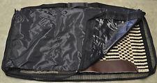 Saddle Pad Blanket Carrier Bag Tote Black Horse Tack Western English Vented NEW