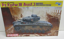 CHAR D'ASSAUT - PZ.KPFW. III Ausf.J Initial prod. Maquette 1/35eme DRAGON - 6463