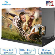 Newest HD 14 Inch Phone Screen Magnifier 3D Video Phone Amplifier Stand Bracket