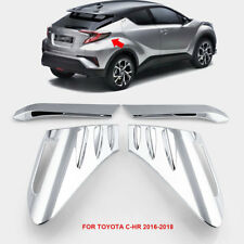 ABS Chrome Car Rear Back Lamp Tail light Cover Trim For Toyota C-HR CHR 16-18