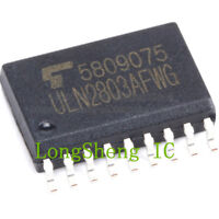 10pcs ULN2803 ULN2803A ULN2803AG ULN2803AFWG 7.2mm Wide Body SMD SOP18 new