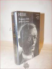 HESSE, Hermann: IL GIUOCO DELLE PERLE DI VETRO MERIDIANI MONDADORI Cofanetto
