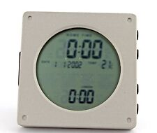 New! World Travel Time Calendar/ Temperature LCD Display Table Clock-889-888