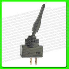 Interruttore Lampeggiatore Nero in plastica medio LEVA [PWN205] 12v 20A auto-ritorno