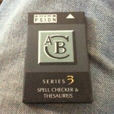Psion Spell Checker & Thesaurus for Psion Series 3