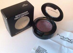 MAC DAZZLESHADOW Eyeshadow in FEEL THE FEVER Blue Purple w/Pink Sparkles BNIB