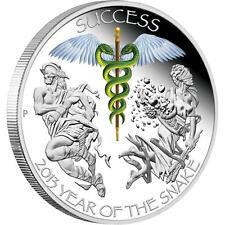 2013 Lunar Good Fortune - Success- 1oz Silver Proof Coin - ANDA Perth Show