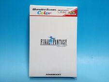 Wonder Swan Color Final Fantasy WonderSwan