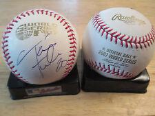 Revolution TAYLOR TWELLMAN signed BOSTON RED SOX 2007 World Series Baseball COA