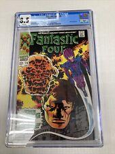Marvel Comics Fantastic Four 78 CGC Graded 8.5