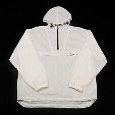 K-WAY Half Zip Anorak | Large | Pullover Cagoule Jacket Hooded Rain Wind 1/4