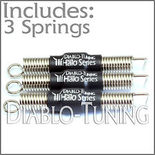 Set of 3 SILENT / Noiseless guitar Tremolo springs!  Perfect for Ibanez Backstop