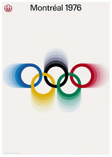 MONTREAL QUEBEC 1976 Summer Olympic Games Official Olympic Museum POSTER Reprint