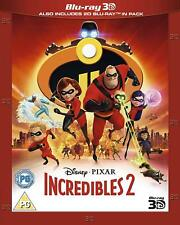 The Incredibles 2 3D / 2D Blu-ray ships from Us Seller, In Stock With Slipcover