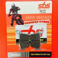 Husaberg FE 570 09 > 13 SBS Rear Carbon Silver Brake Pads Set 791CS