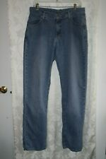 Women's RIDERS by LEE Faded Blue Jeans Straight Leg Size 14 Long
