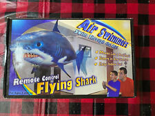 Air Swimmers Remote Control Flying Shark NEW Open Box William Mark Corp.