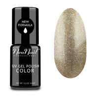 NeoNail LED UV Nagellack UV Polish Gel 6 ml  Glitter Gold