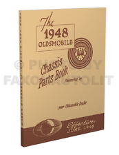 Oldsmobile Mechanical Parts Book 1948 1947 1946 1942 1941 1940 1939 Olds Chassis
