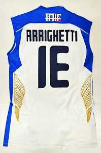 6893 ASICS Fipav Italy Man Tank Top National Italian Volleyball Abel 13