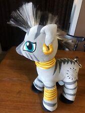 "My Little Pony Build-a-Bear Zecora Zebra Boy Gray Black horse 18"" Free Shipping"