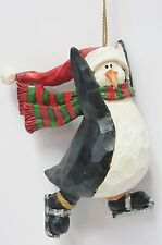 Boyds Holiday #257440 * Penguin on Skates Ornament Brand New, Mint in Box