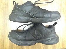 Mens New Balance 608 V4 MX608V4B Sz 7 2E Black Leather Padded Sneakers