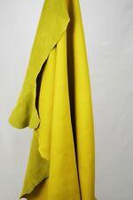 Yellow Italian Buffalo Leather hides 2.30m2 / 2.70m2 2.5mm