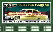 Billboard for Lionel Holder Chevrolet 1951 With time proved Power Glide