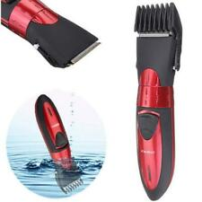 Washable Electric Rechargeable Mens Shaver Beard Hair Clipper Trimmer Set BE