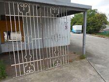WROUGHT IRON GATES OR LARGE WINDOW PANELS